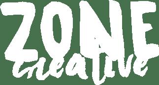 Logo Zone Créative gris